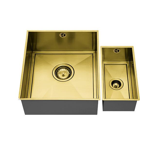AXIXUNO SET B – 355U & 150U SHORT HALF BOWL GOLD BRASS